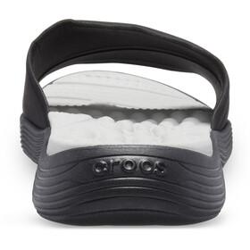 Crocs Reviva Slides-sandaali Naiset, black/black